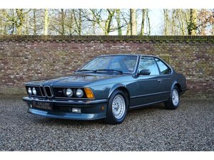 1984 BMW M635 CSI (M6) Ex. Crown Prince H.H. Sheikh Al Nahayan, E