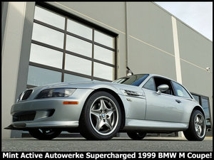 1999 BMW M Coupe Z3 M Faster SuperCharged 359-HP $24.9k For Sale