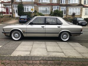 1986 BMW e28 automatic - serviced and MOT'd For Sale