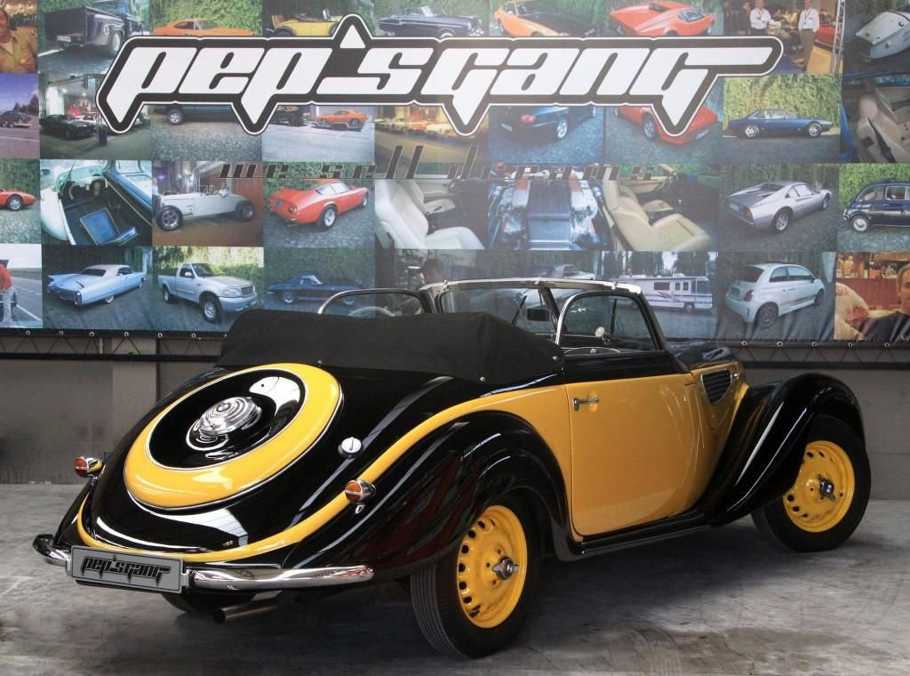 1940 BMW 327 roadster For Sale (picture 2 of 6)