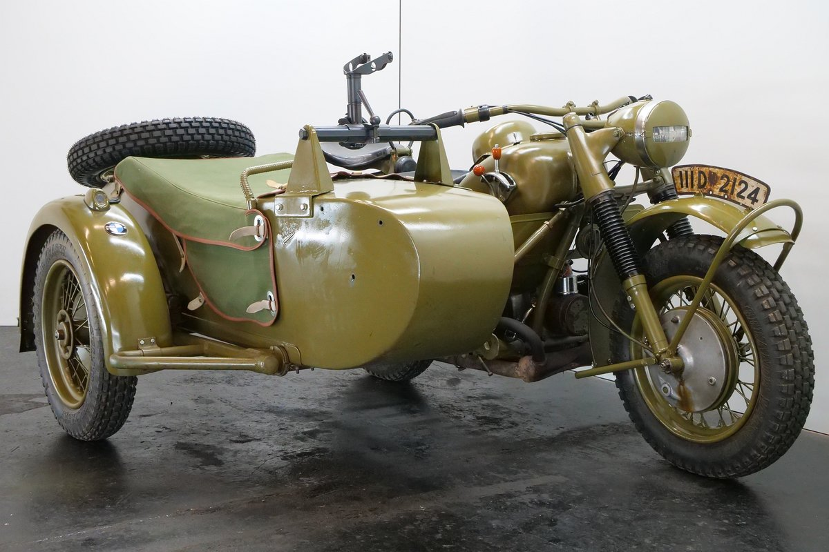 BMW R75 combination 1943 750cc 2 cyl ohv For Sale (picture 1 of 6)