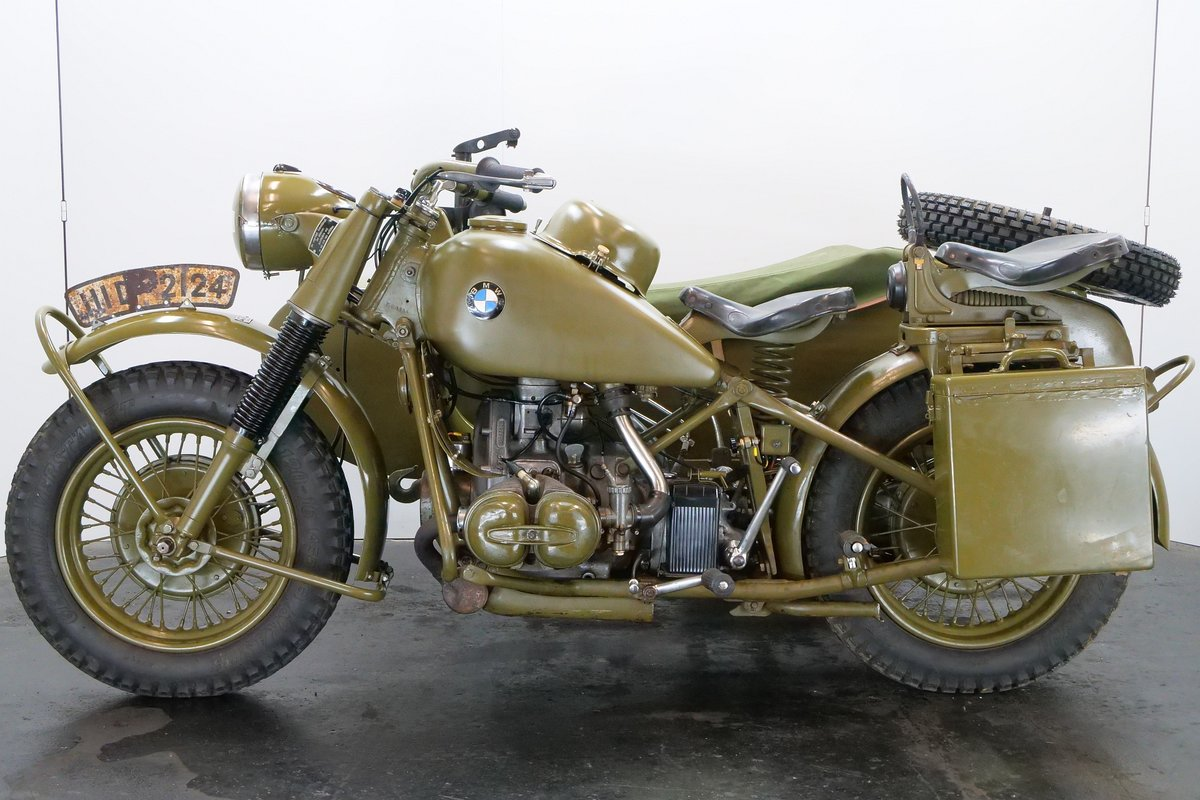 BMW R75 combination 1943 750cc 2 cyl ohv For Sale (picture 2 of 6)