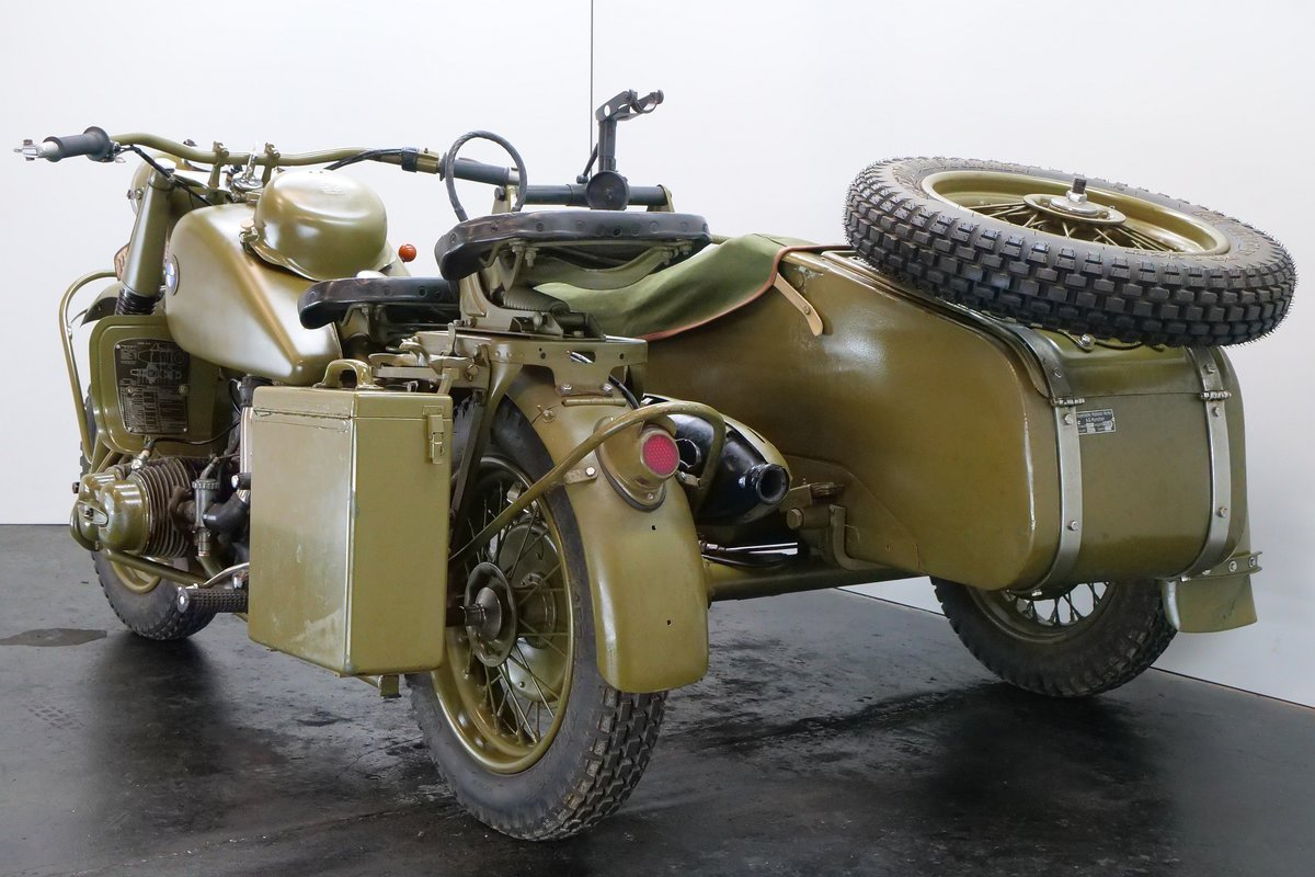 BMW R75 combination 1943 750cc 2 cyl ohv For Sale (picture 3 of 6)