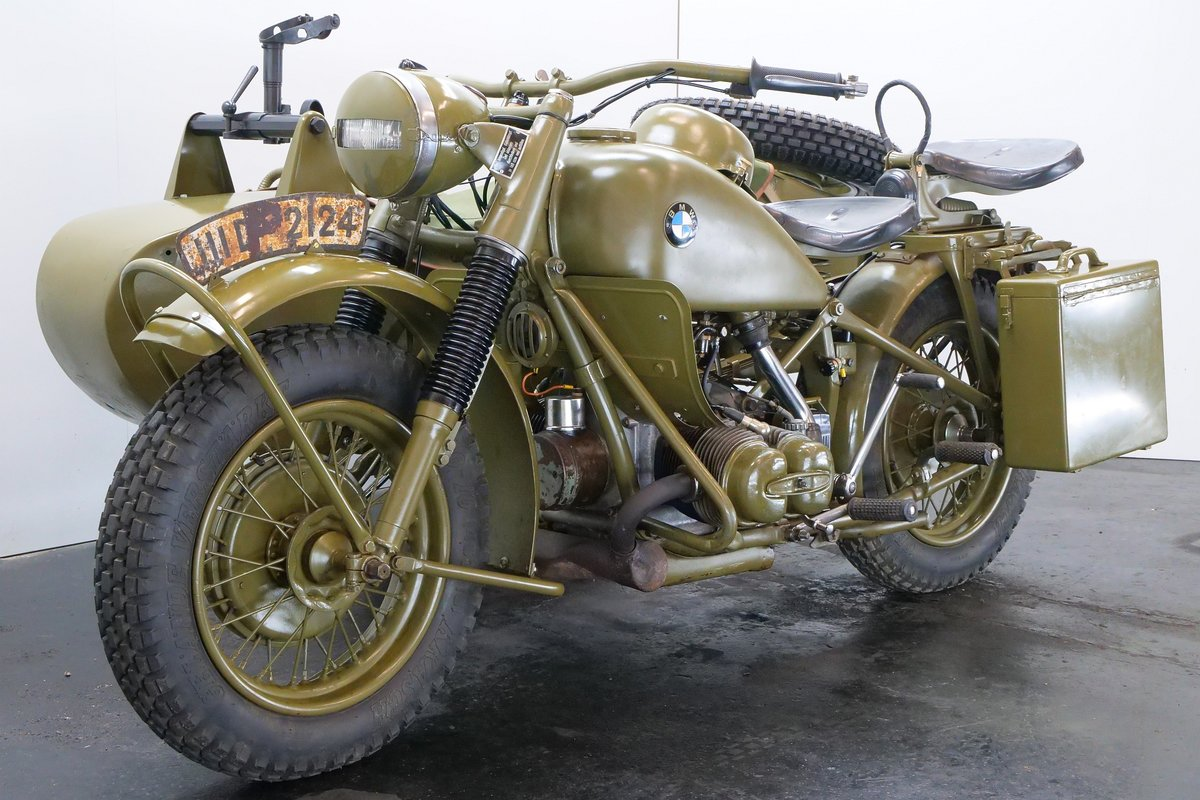 BMW R75 combination 1943 750cc 2 cyl ohv For Sale (picture 4 of 6)