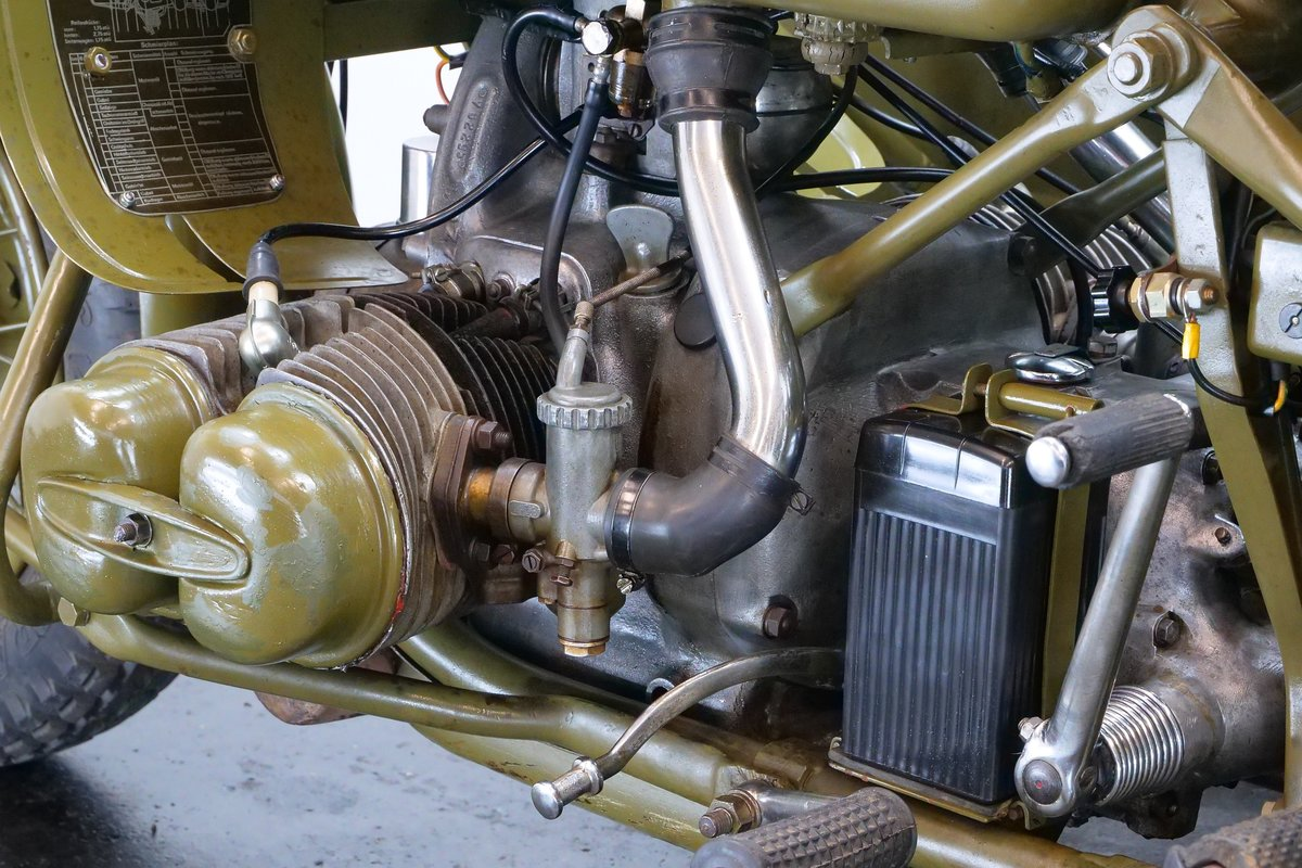 BMW R75 combination 1943 750cc 2 cyl ohv For Sale (picture 6 of 6)