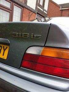BMW 318is E36.