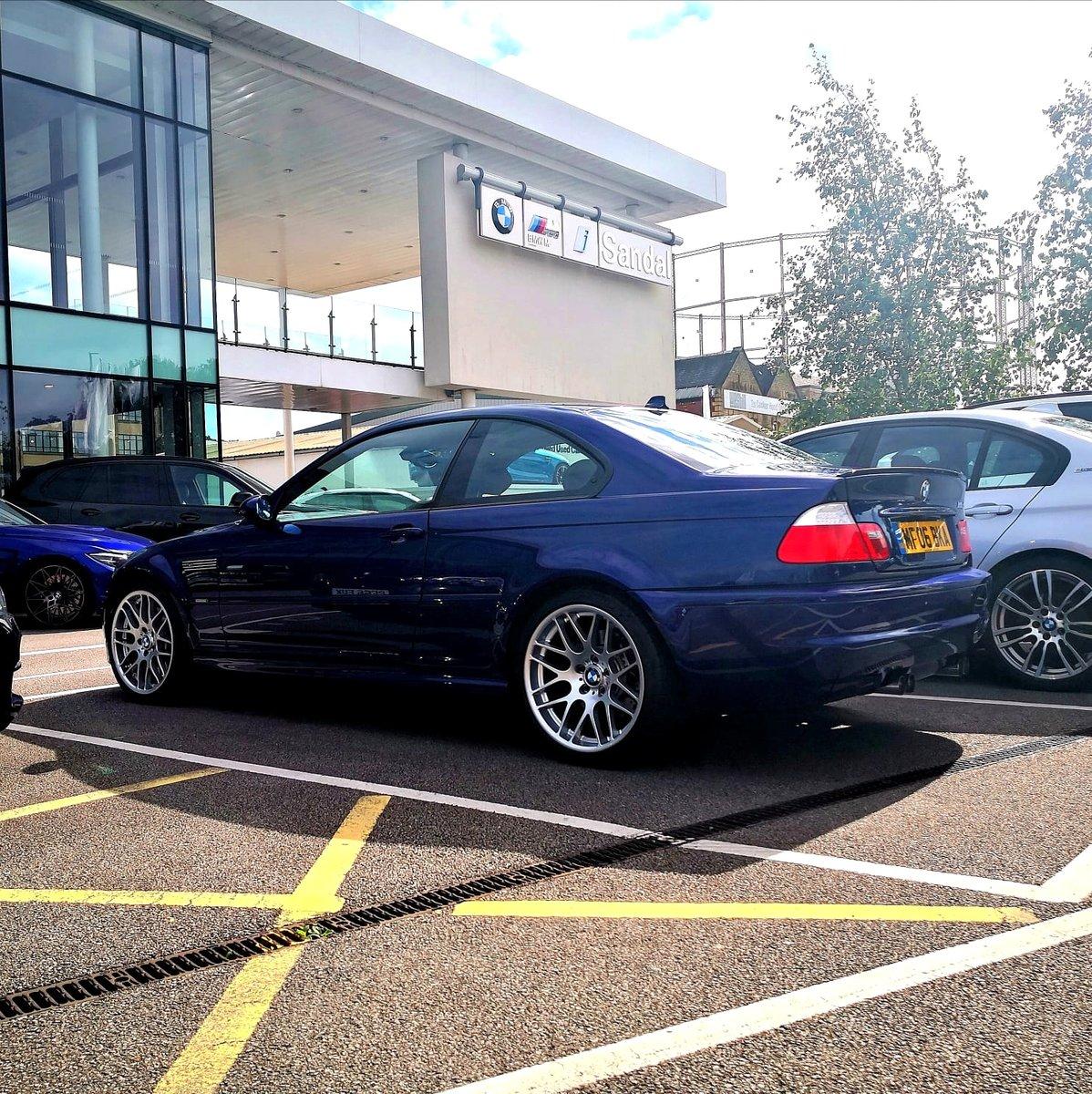 2006 Bme E46 M3 Cs Interlagos Blue Smg For Sale