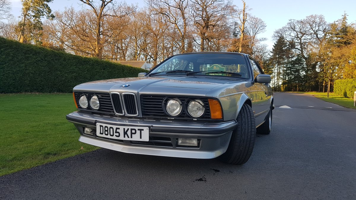 1987 BMW E24 6 series 635csi shadowline 2dr coupe For Sale (picture 1 of 6)