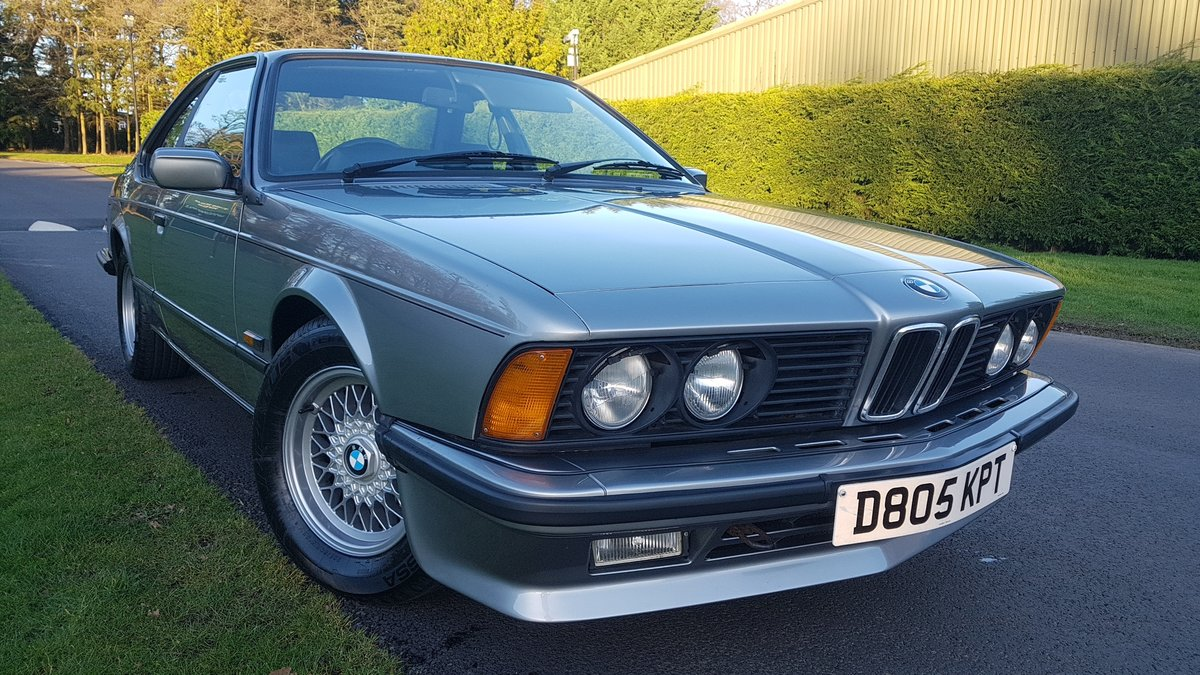 1987 BMW E24 6 series 635csi shadowline 2dr coupe For Sale (picture 2 of 6)
