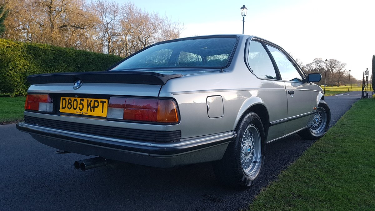 1987 BMW E24 6 series 635csi shadowline 2dr coupe For Sale (picture 4 of 6)