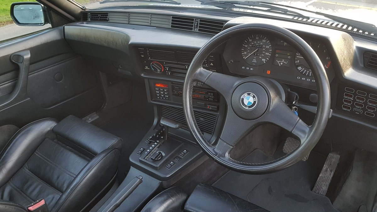 1987 BMW E24 6 series 635csi shadowline 2dr coupe For Sale (picture 6 of 6)