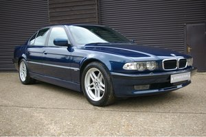 2001 BMW E38 740i M-Sport Automatic Saloon (27,686 miles) SOLD