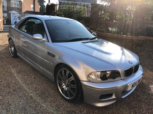 2003 BMW M3 3.2 smg convertible/sat nav/private plate