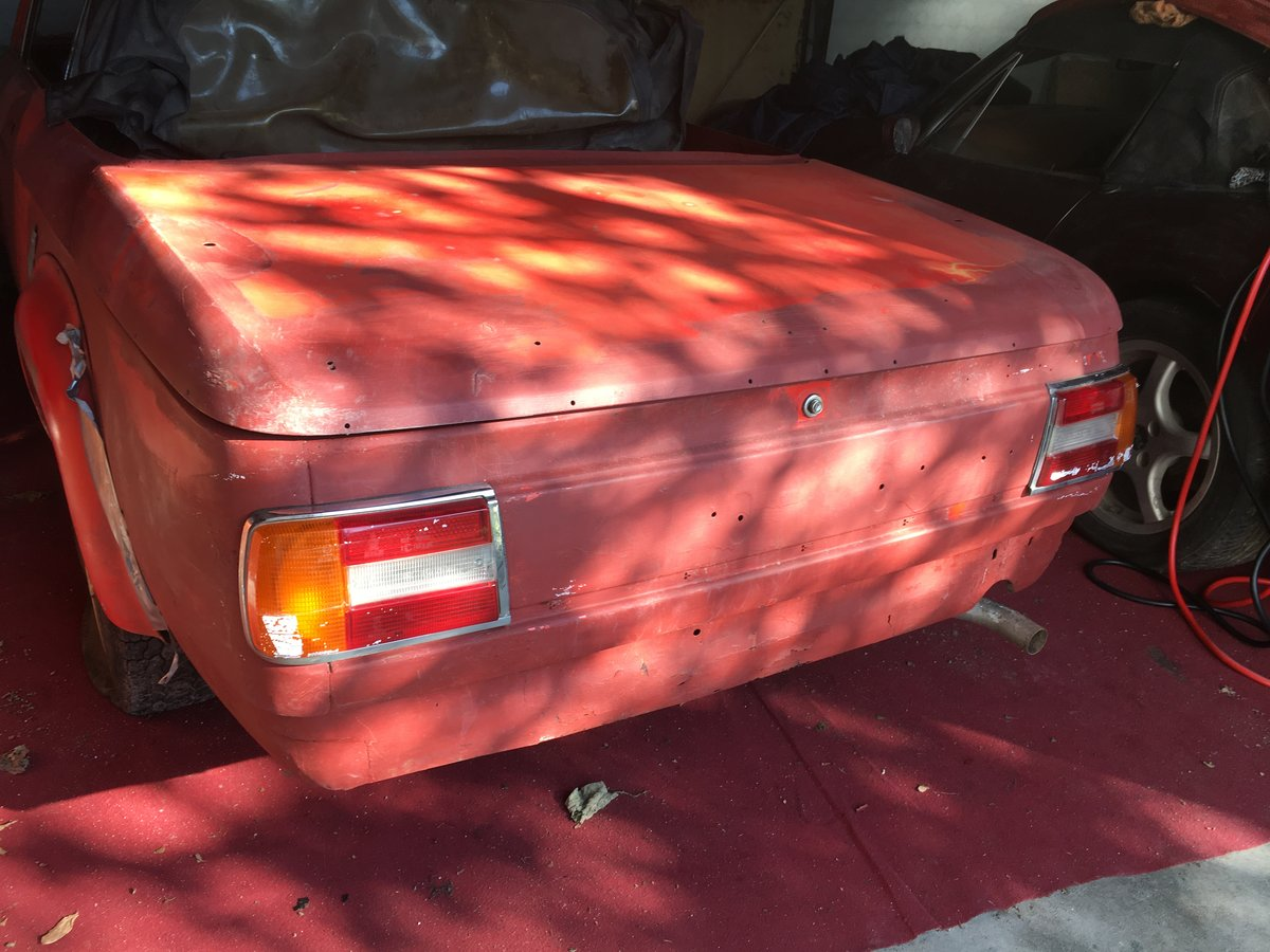 1969 Rare BMW 1600-2 Full Cabrio  LHD For Sale (picture 2 of 6)