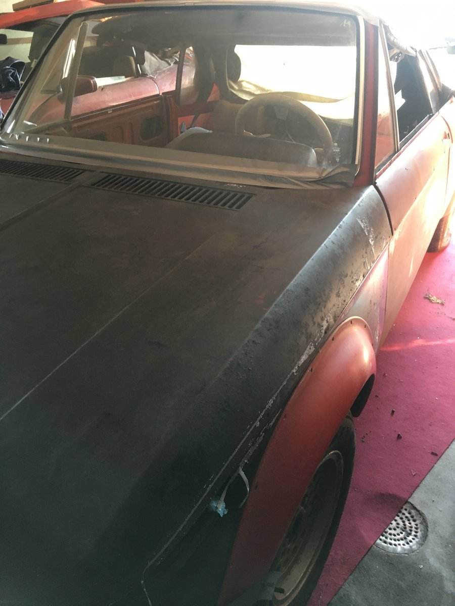 1969 Rare BMW 1600-2 Full Cabrio  LHD For Sale (picture 6 of 6)