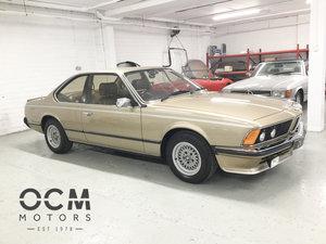 1981 BMW 635csi (E24) 26000 Miles