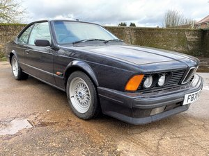 beautiful 1989 BMW E24 635CSi Highline+97k with history