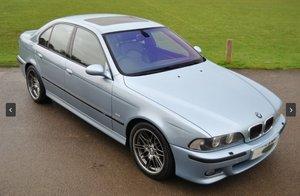 1999 Low Mileage E39 M5 V8 - Silverstone Blue For Sale