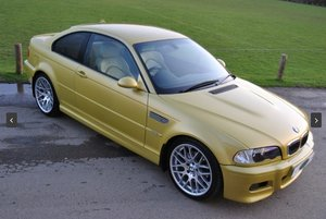 2003 E46 - 2019 Concours Winner - Manual Coupe