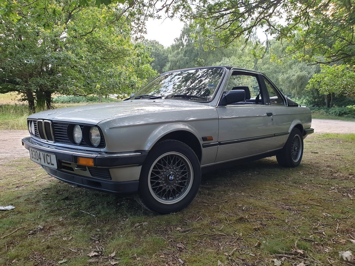 1985 BMW E30 BAUR TC 320i For Sale (picture 5 of 6)