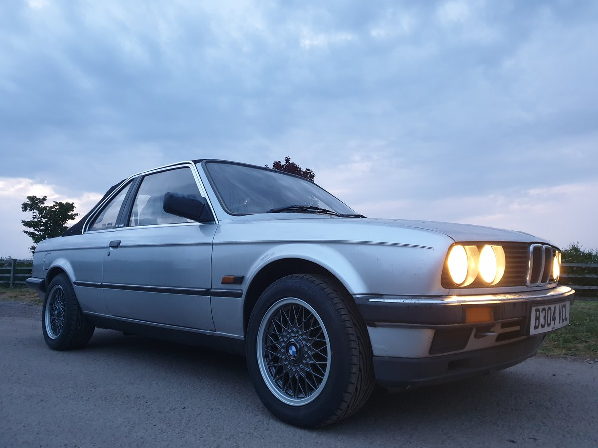 1985 BMW E30 BAUR TC 320i For Sale (picture 6 of 6)