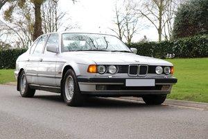 Bmw 730i E32, Auto, Silver, 1 Previous owner, FSH