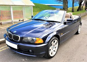 2000 BMW 323I Ci E46 CONVERTIBLE SOFT TOP WITH ONLY 64,250 MILES  For Sale