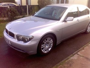 2002 BMW 745i FSH Immaculate Throughout