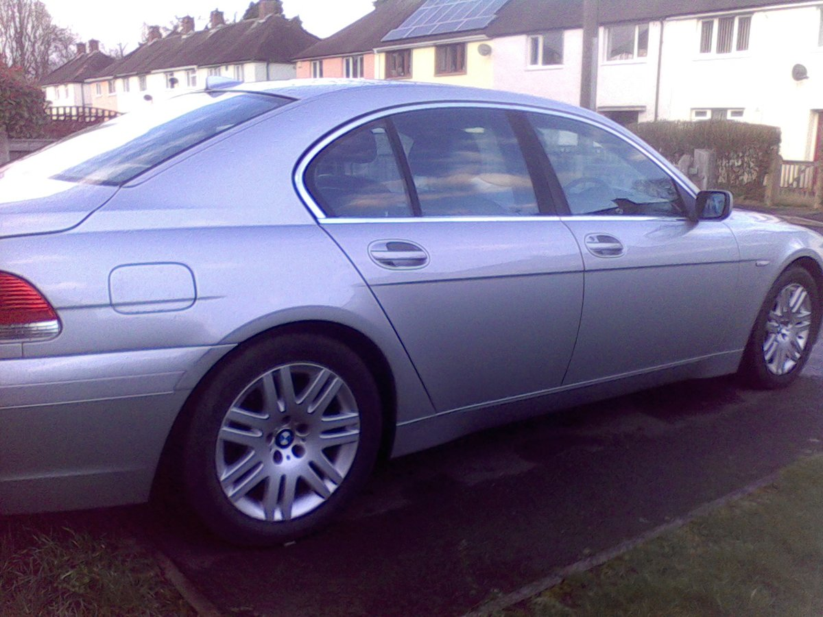 2002 BMW 745i FSH Immaculate Throughout For Sale (picture 2 of 6)