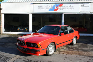 1989 BMW E24 635 CSi Motorsport Edition  For Sale