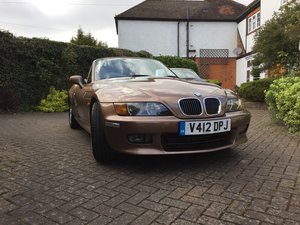 1999 BMW Z3 2.8,Rare Colour-Low Miles -Price Negotiable For Sale