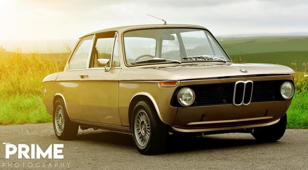 1971 BMW 2002, RHD, Round rear light, manual 86k SOLD (picture 1 of 5)