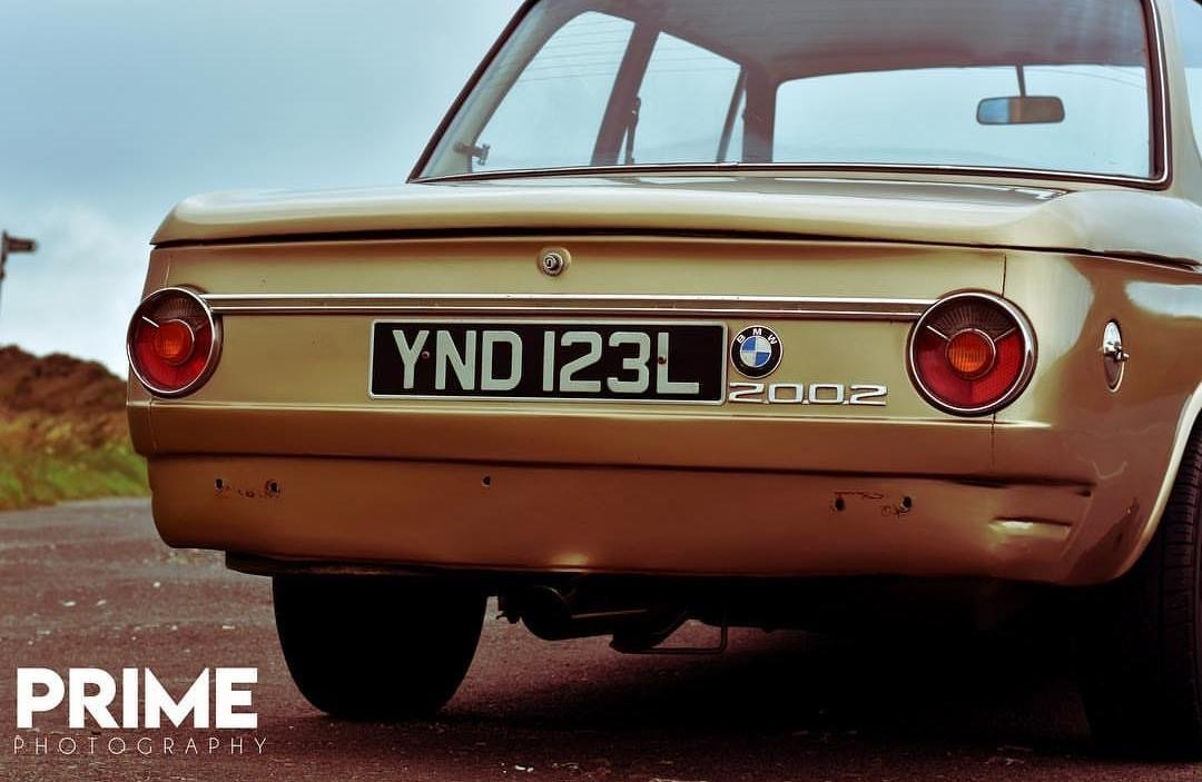 1971 BMW 2002, RHD, Round rear light, manual 86k SOLD (picture 2 of 5)