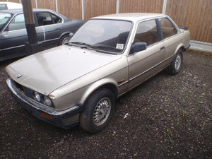 1984 Bmw e30 2 door unwelded project.