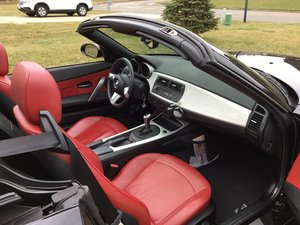 2008 BMW six speed stick Conv. Z4