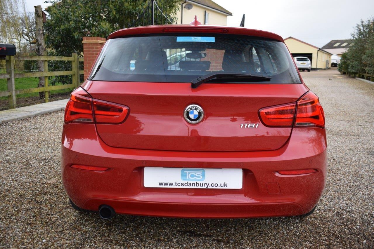 2017 BMW 118i SE Sport Hatchback Automatic (Navigation) For Sale (picture 5 of 6)