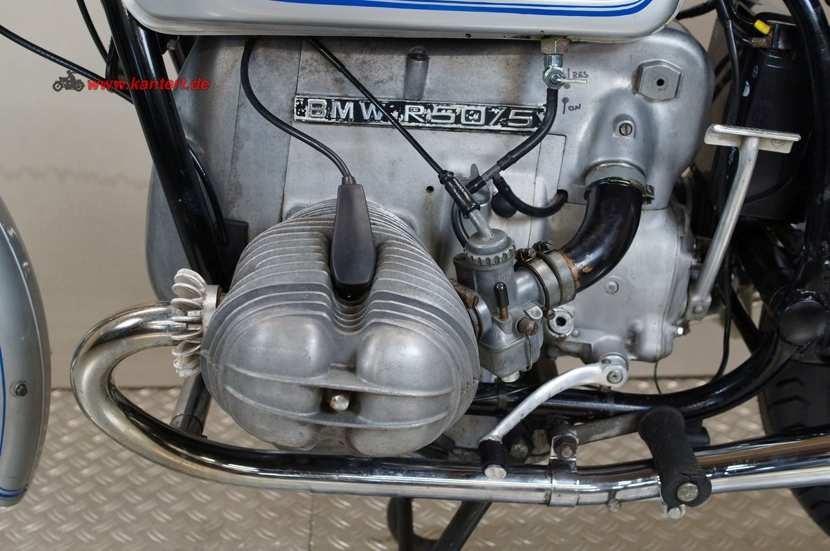 1971 BMW R 50/5, 494 cc, 27 hp For Sale (picture 6 of 6)