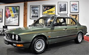 1982 BMW 520i (1 owner) For Sale