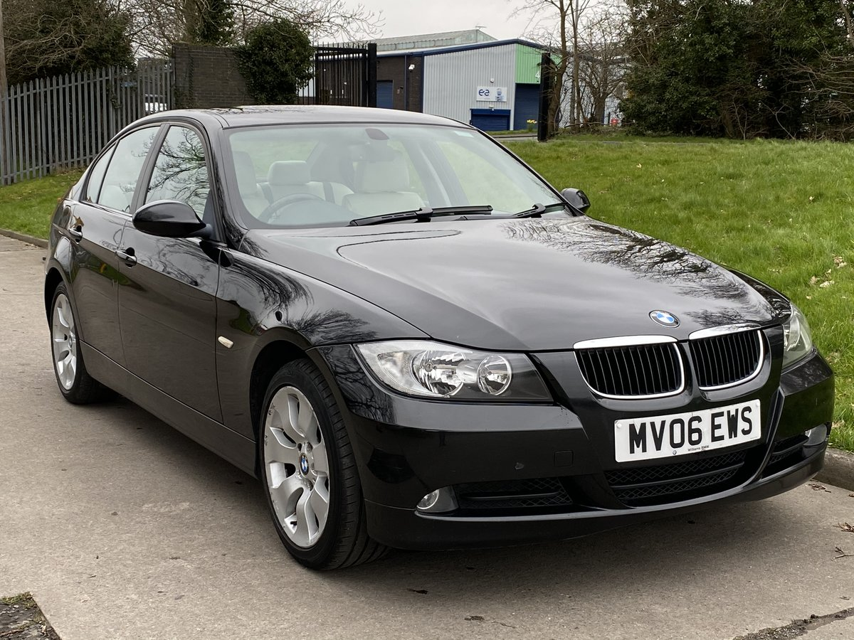 2006 BMW 320d 163 SE 6 Speed - High Spec - Full Service History For Sale (picture 1 of 6)
