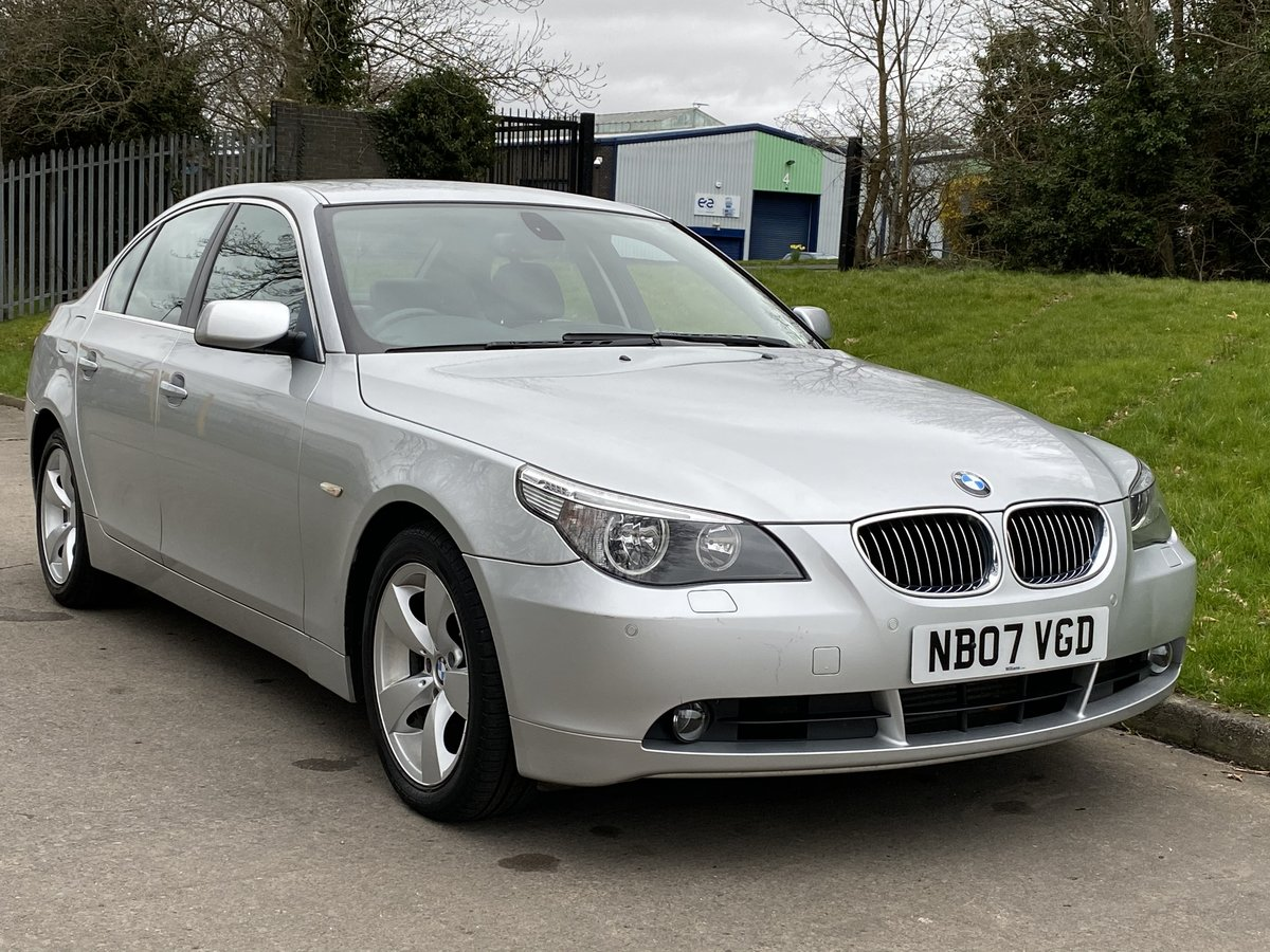 2007 BMW 525d SE Automatic - Low Miles - Full Leather For Sale (picture 1 of 6)