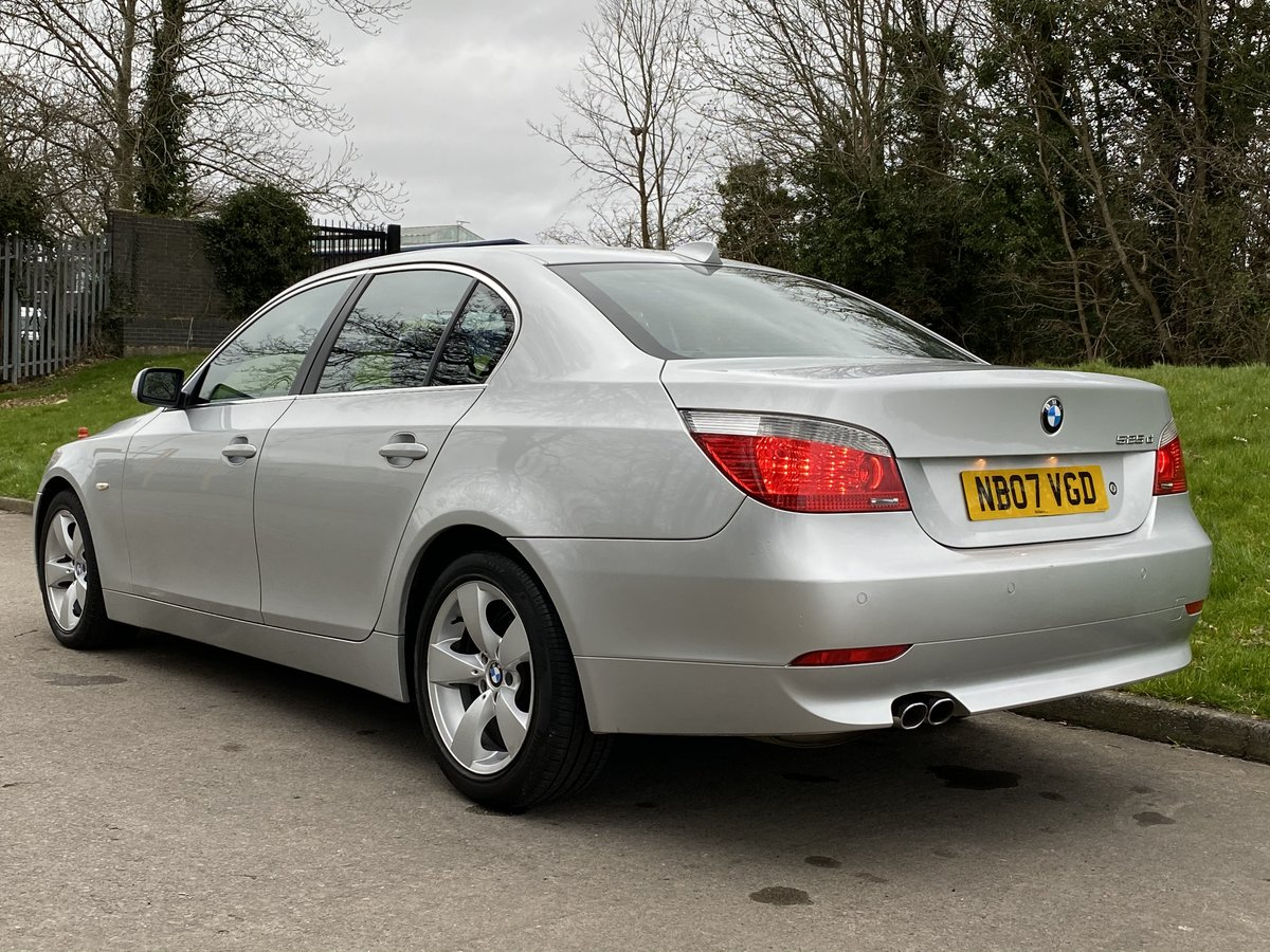 2007 BMW 525d SE Automatic - Low Miles - Full Leather For Sale (picture 3 of 6)
