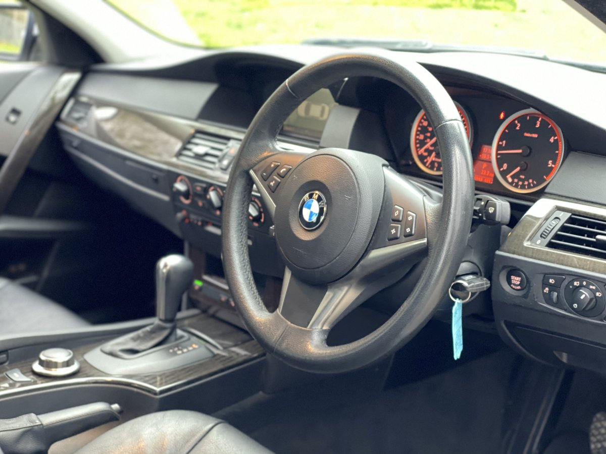 2007 BMW 525d SE Automatic - Low Miles - Full Leather For Sale (picture 4 of 6)