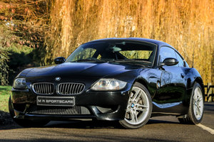 BMW Z4M Coupe Sapphire Black with Black Leather