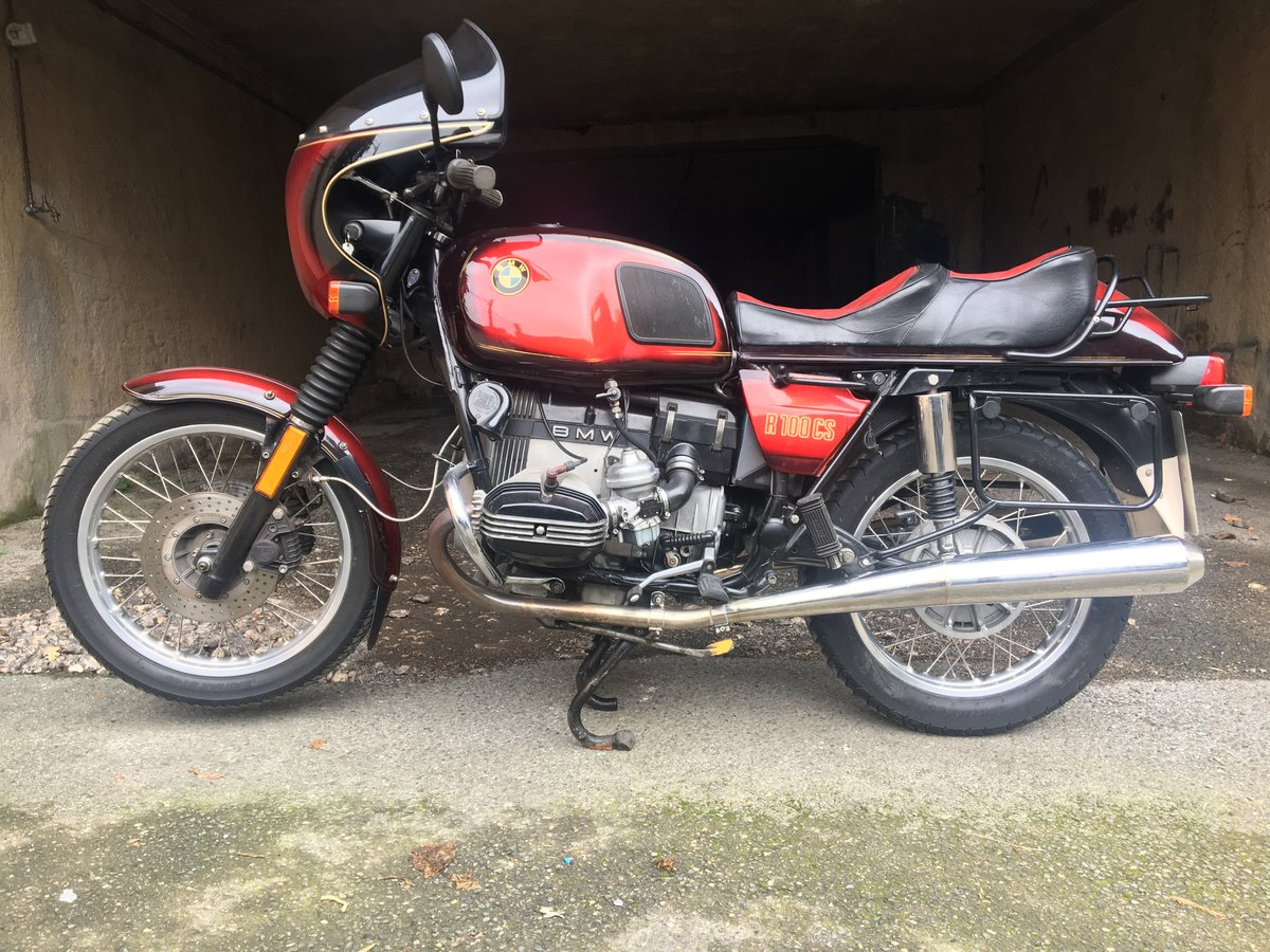 1981 BMW R100 CS  For Sale (picture 1 of 6)