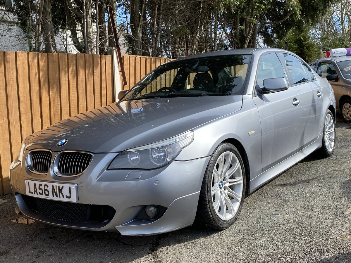 2006 BMW 525d M Sport Automatic E60 For Sale (picture 1 of 6)