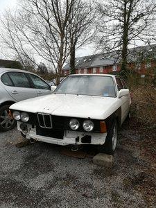 1982 BMW E21 323i Spares or Repairs