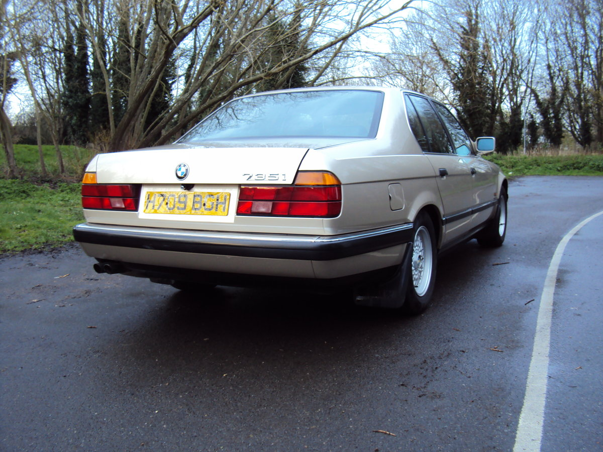 1991 BMW 735i SE E32 For Sale (picture 3 of 6)