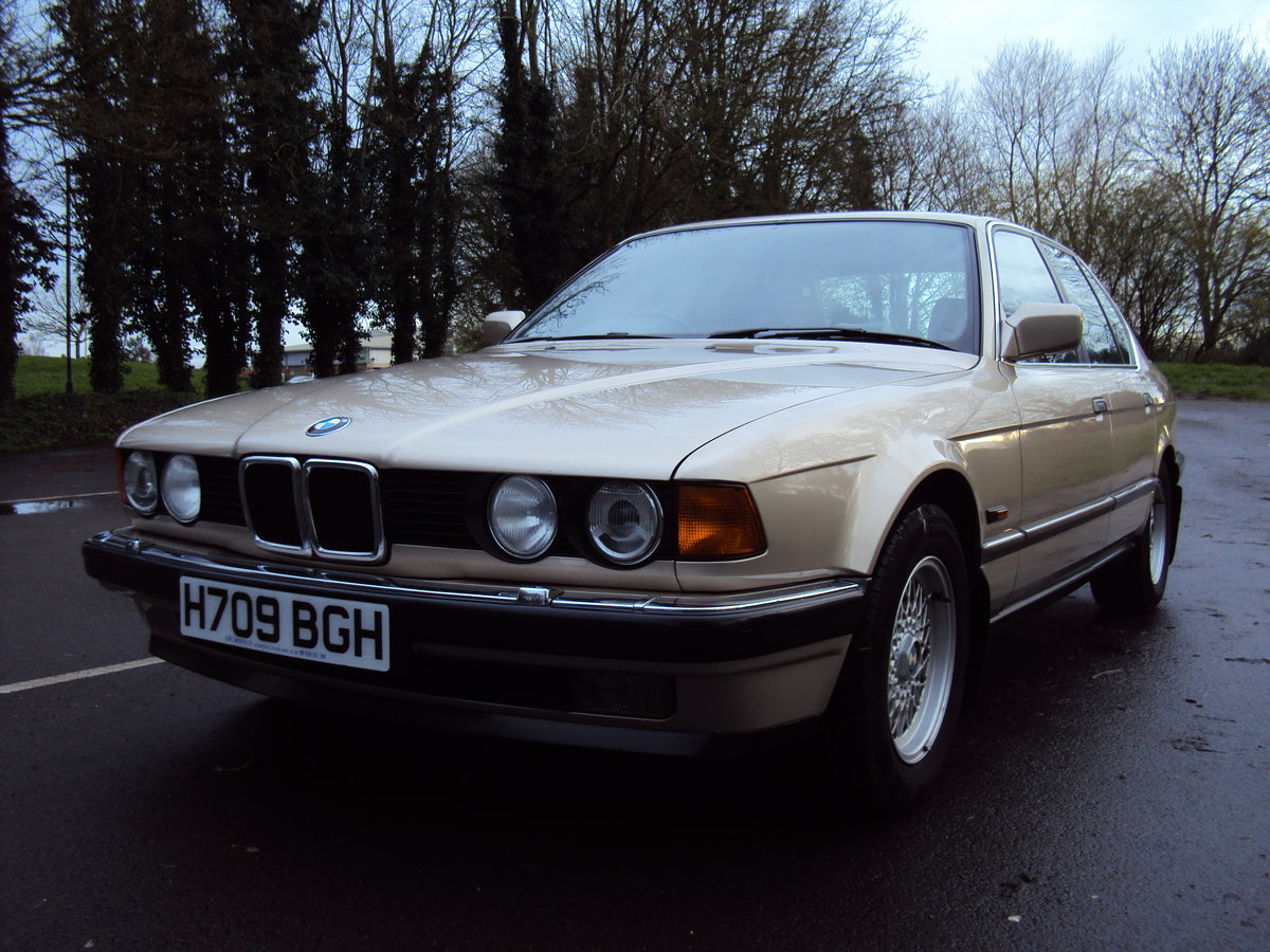1991 BMW 735i SE E32 For Sale (picture 5 of 6)
