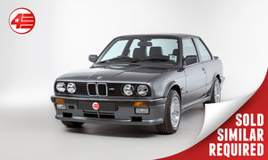 1987 BMW E30 325i Sport /// Manual /// Fully Restored SOLD