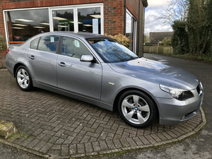 2004 BMW 525i SE MANUAL (1 owner & just 47,000 miles from new)